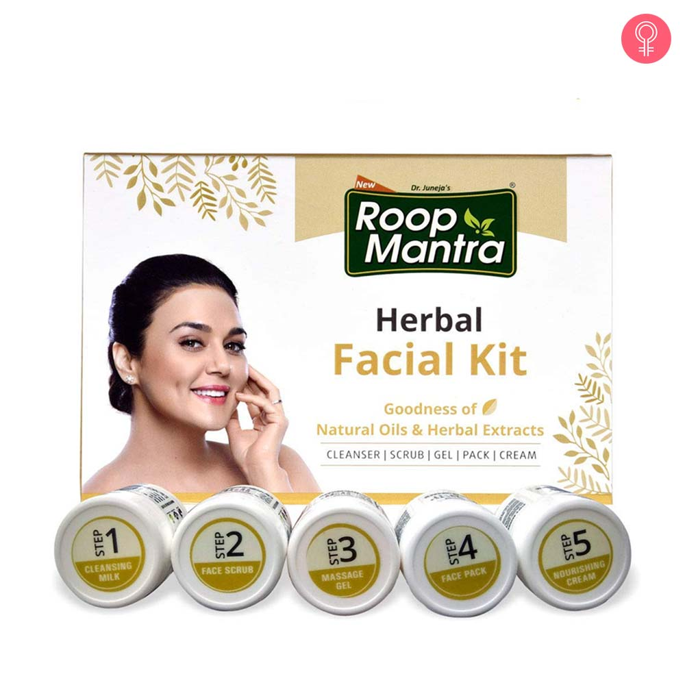 Roop Mantra Herbal Facial Kit