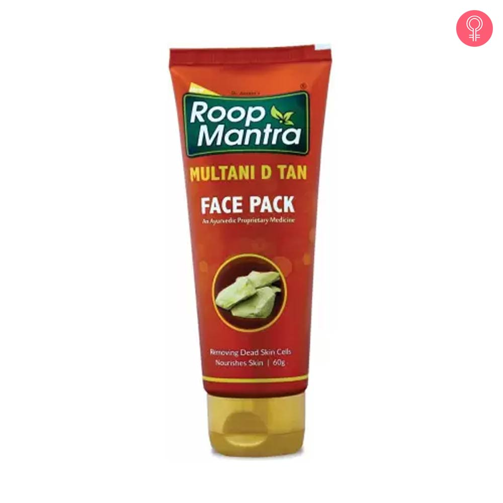 Roop Mantra Multani D Tan Face Pack