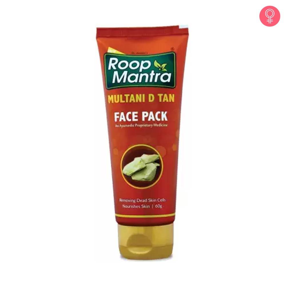 Roop Mantra Multani D Tan Face Pack