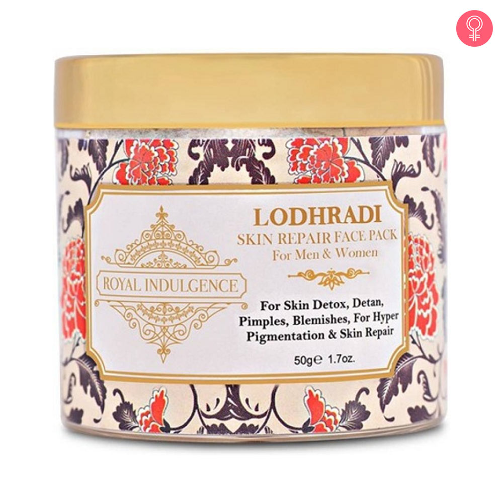 Royal Indulgence Lodhradi Face Pack