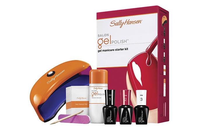 Sally Hansen Saloon Pro Gel Starter Kit -