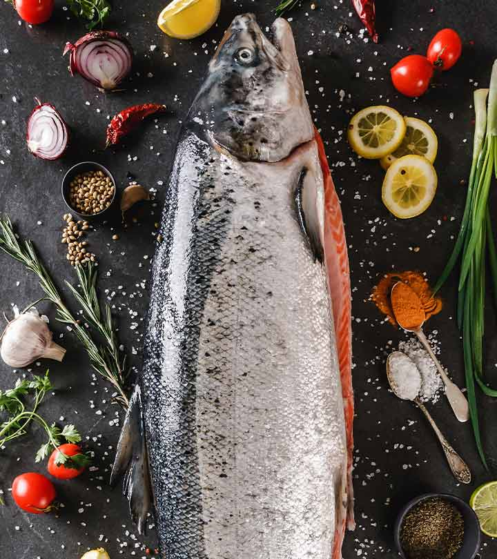 Salmon Fish Benefits and Side Effects in Hindi