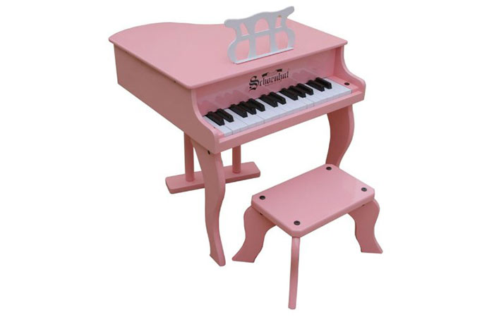 Schoenhut Baby Grand Toy Piano