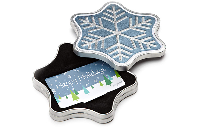 Snowflake Gift Card By Amazon