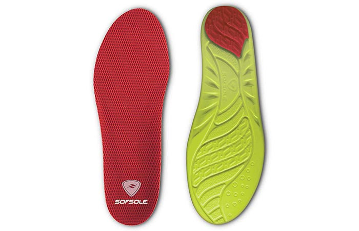 Sof Sole Insoles Women's High Arch Performance Full-Length Foam Shoe Insert