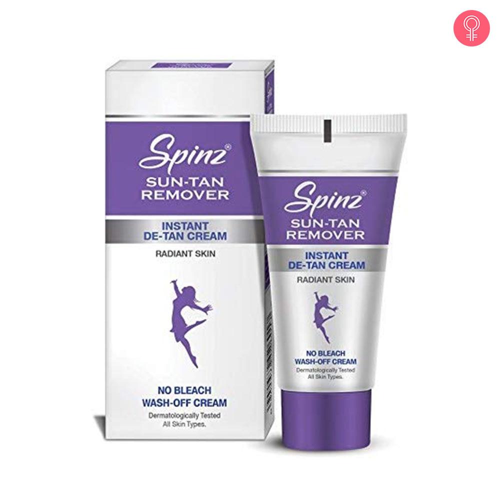 Spinz Sun Tan Remover Instant De-Tan Cream