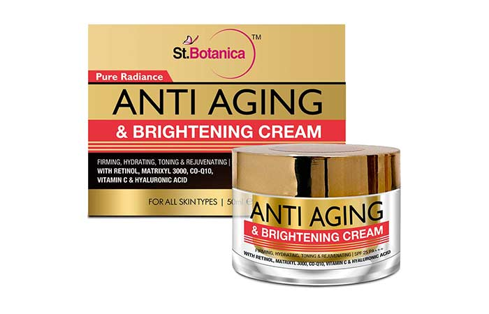 St. Botanica Pure Radiance Anti Aging & Face Brightening Cream