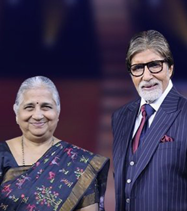 Sudha Murthy Calls Herself A Low Maintenance Wife And Charms The KBC Audience
