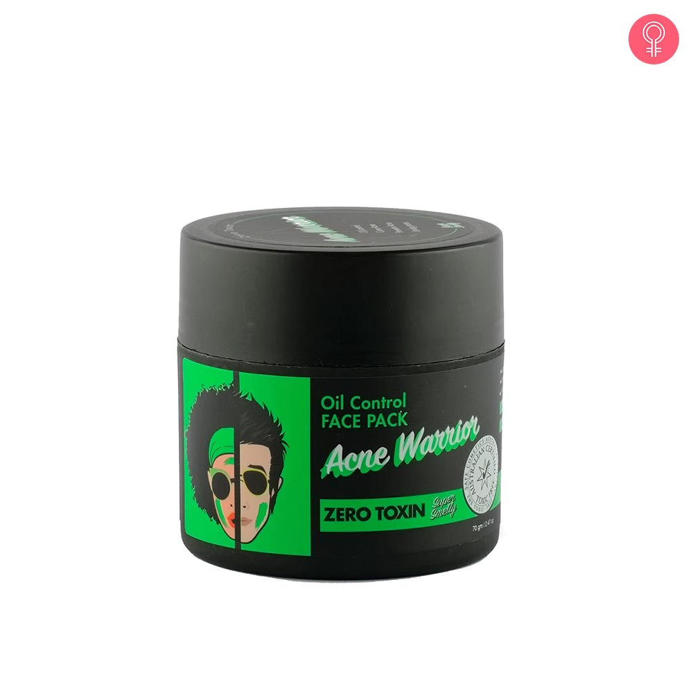 Super Smelly Acne Warrior Oil Control Face Pack