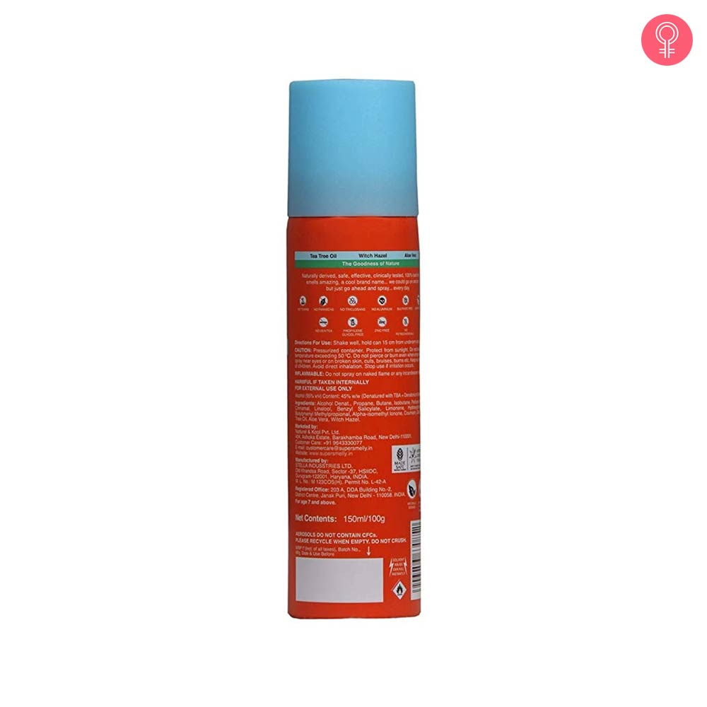 Super Smelly Toxin Free Deo Spray – Sweet As Sin