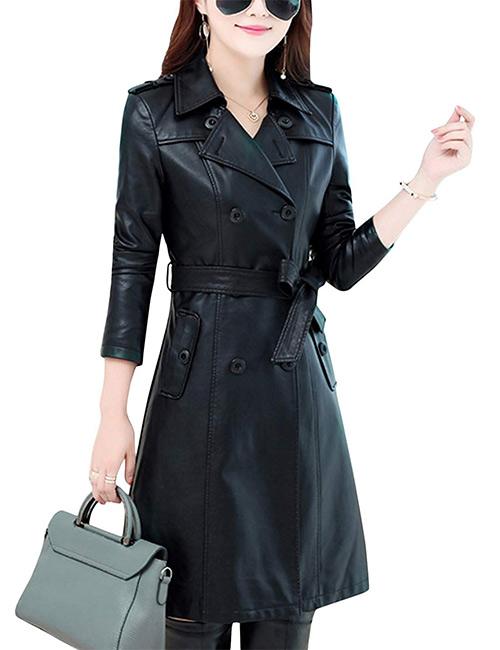 Tanming Lambskin Leather Jacket Coat