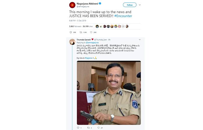 Tollywood's favorite heartthrob Nagarjuna Akkineni tweeted