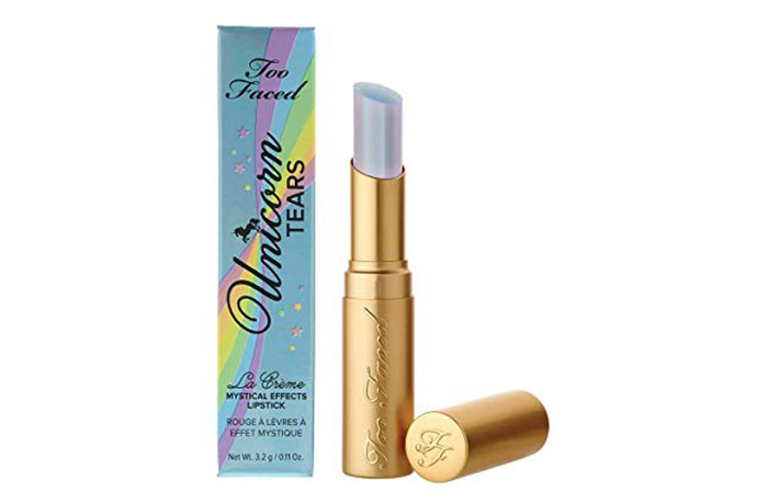 Too Faced La Creme Mystical Effects Lipstick in Unicorn Tears