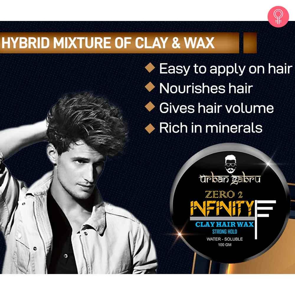 UrbanGabru Zero To Infinity Clay Hair Wax