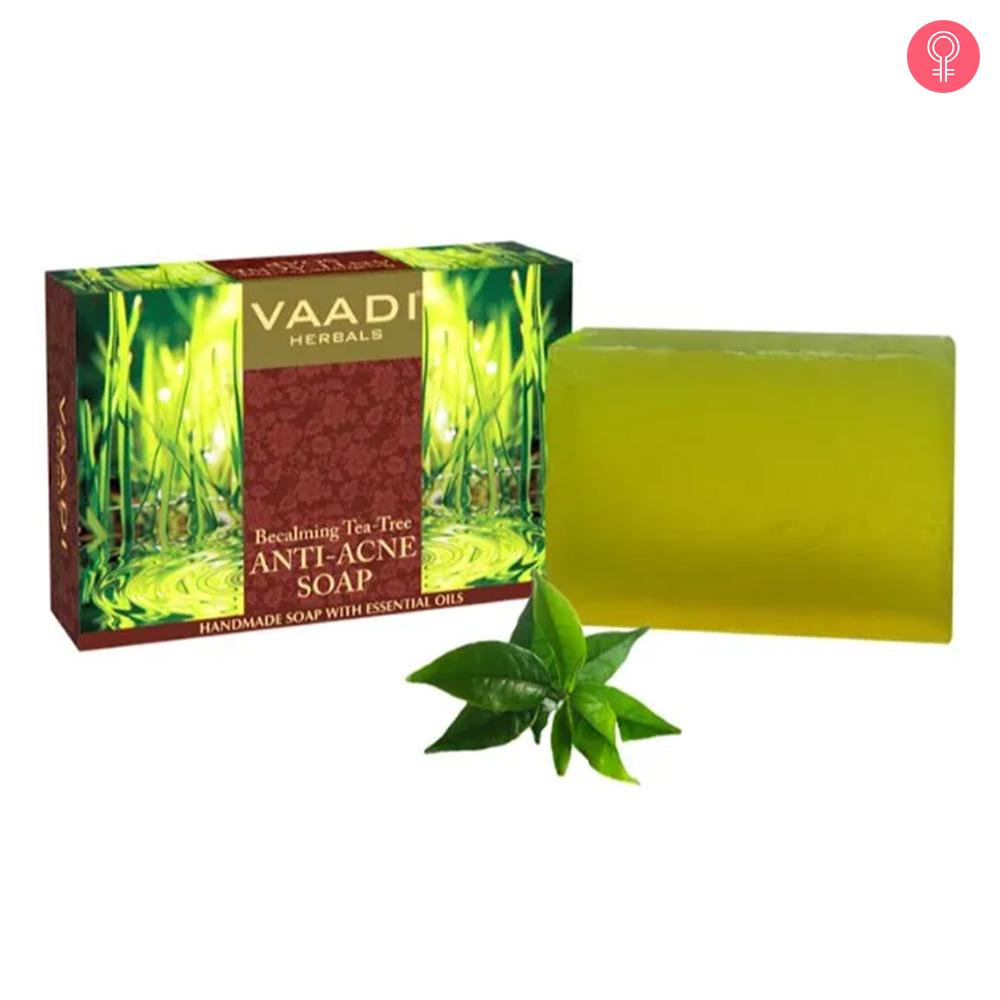 Vaadi Herbals Becalming Tea Tree Anti Acne Soap