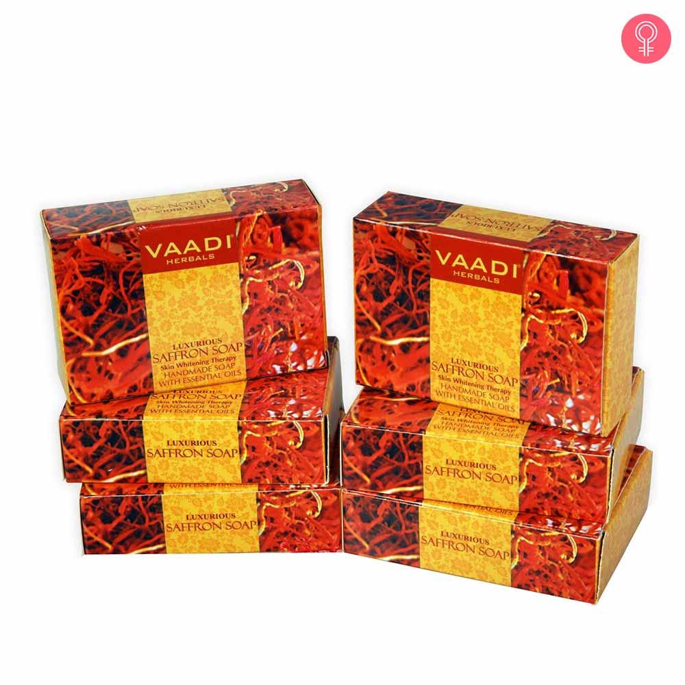 Vaadi Herbals Luxurious Saffron Soap – Skin Whitening Therapy