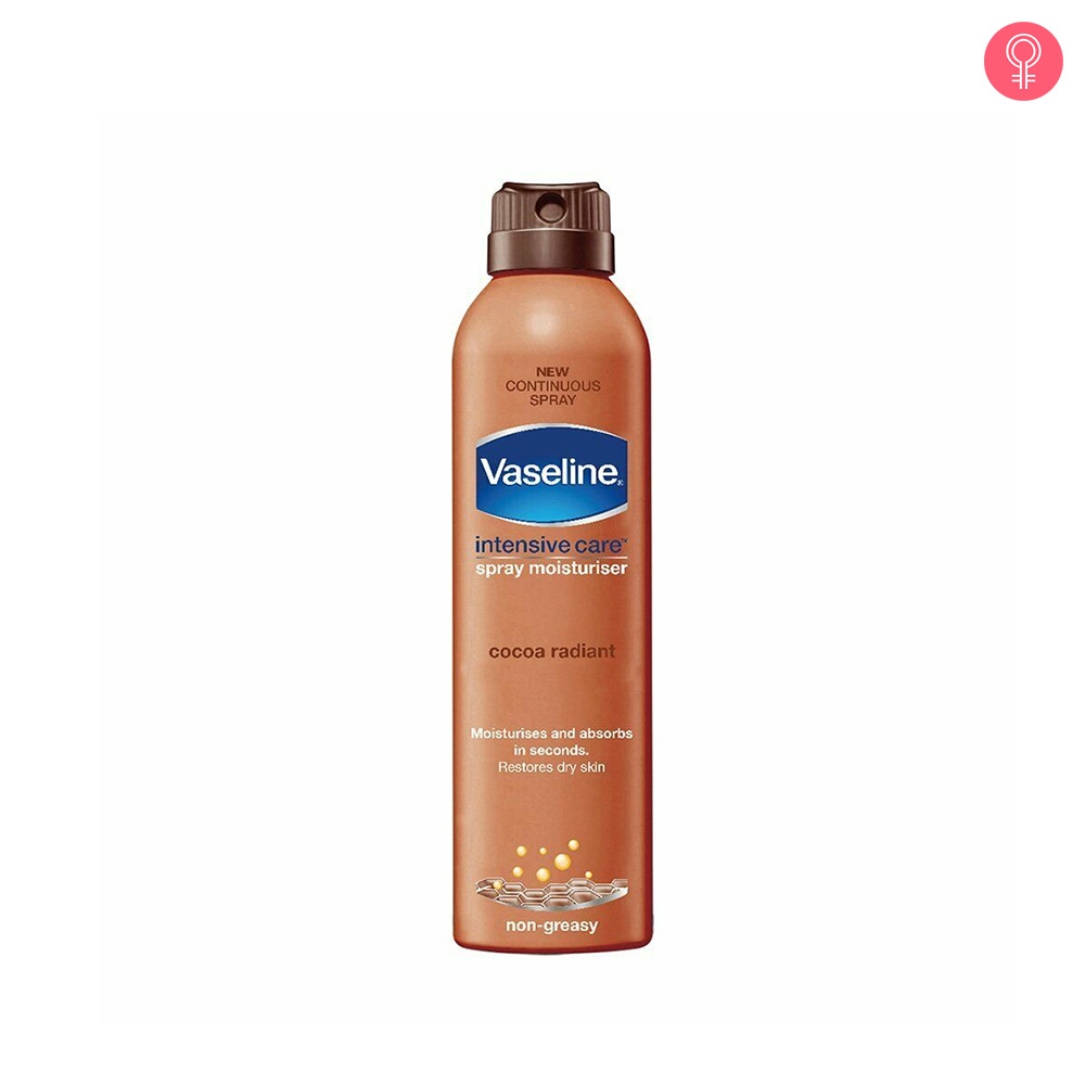 Vaseline Intensive Care Cocoa Radiant Spray Moisturizer