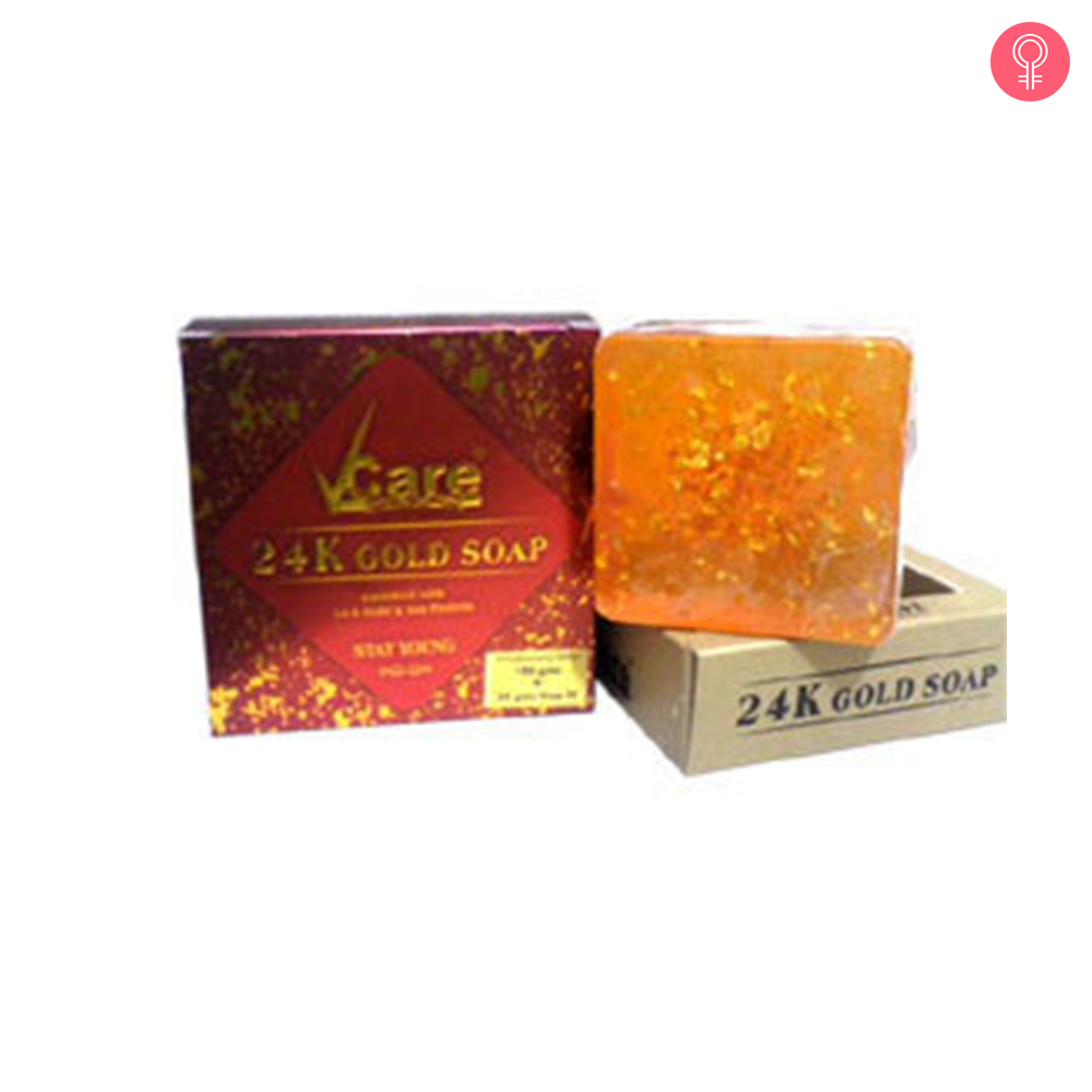 Vcare 24 K Gold Soap