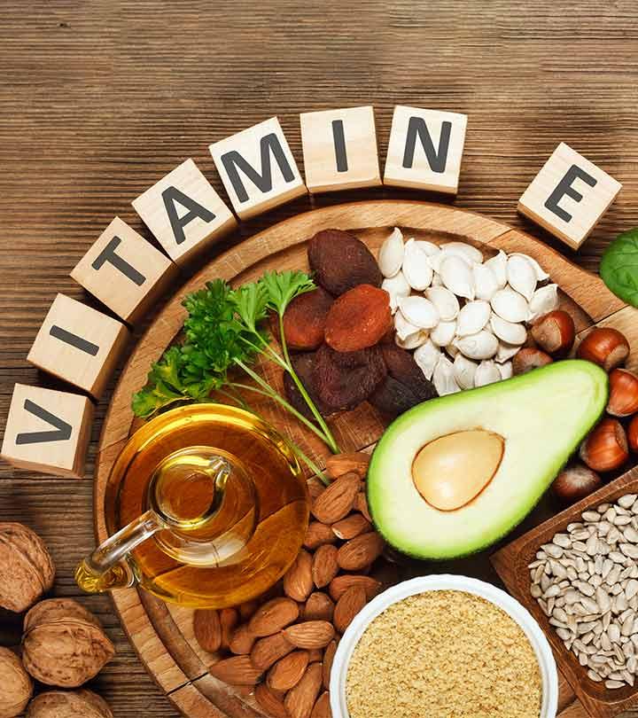 Vitamin E Rich Foods in Hindi
