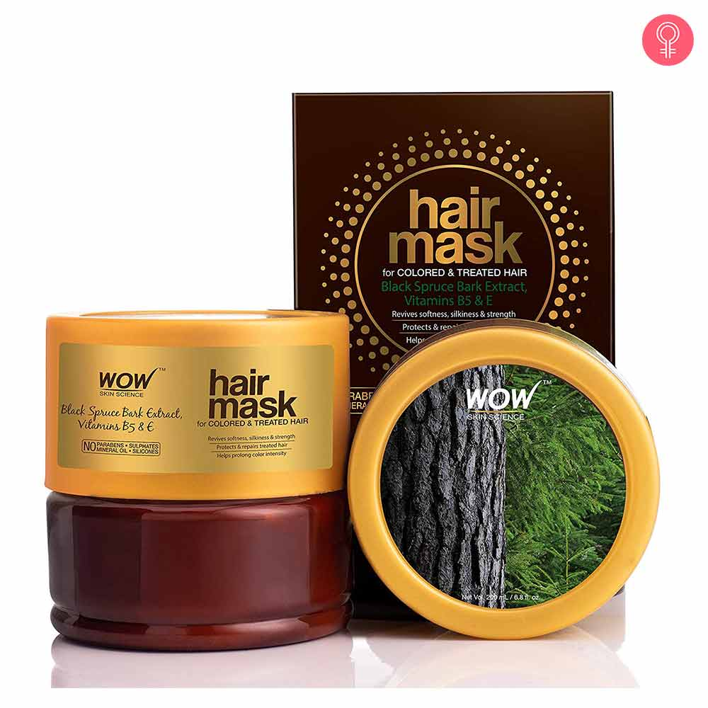 WOW HAIR MASK FOR COLORED & TREATED HAIR