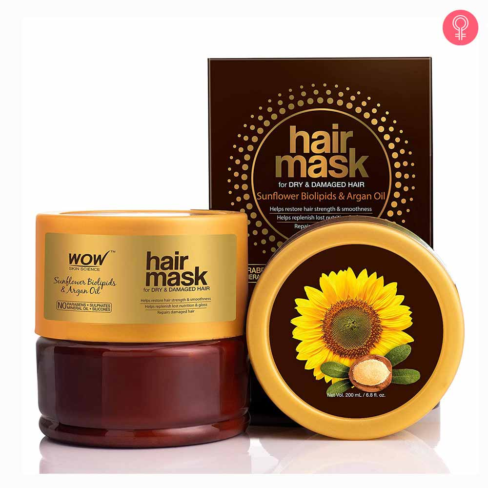 WOW HAIR MASK FOR DRY & DAMAGED HAIR