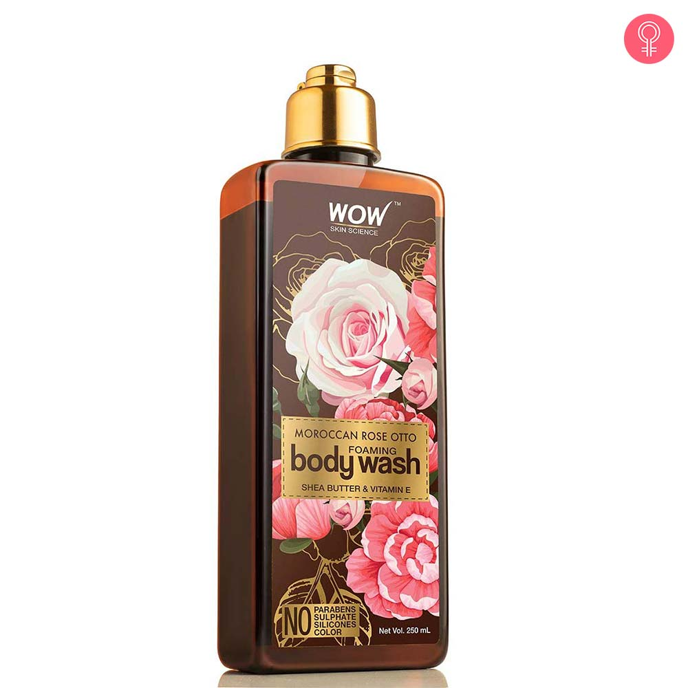 WOW Skin Science Moroccan Rose Otto Foaming Body Wash
