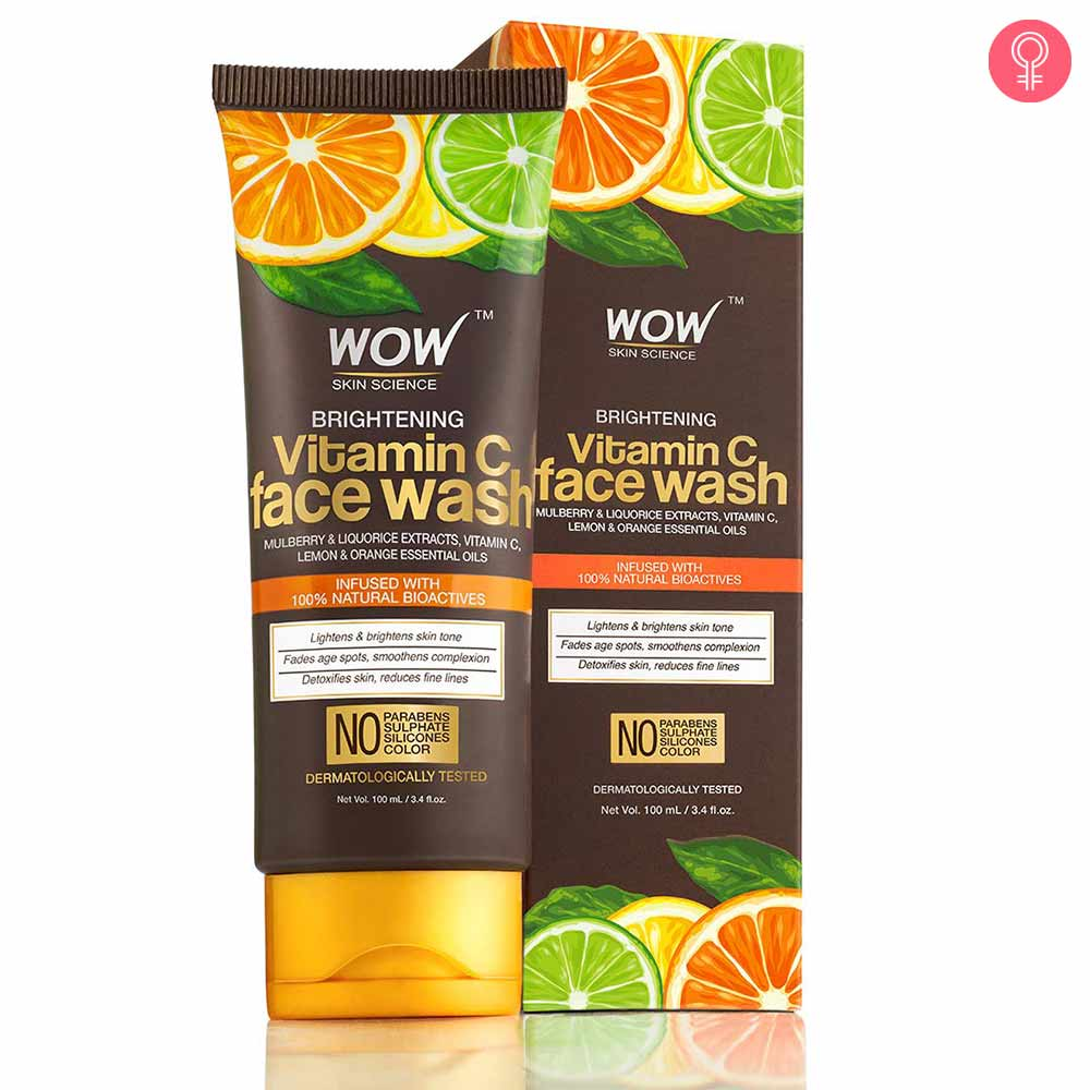 WOW Skin Science Brightening Vitamin C Face Wash