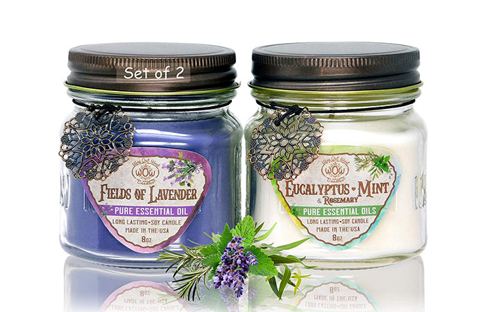 Way Out West Aromatherapy Scented Candles Gift Set