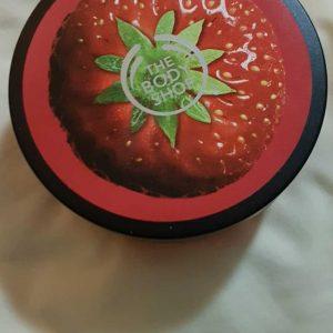 The Body Shop Strawberry Body Butter -SUPERB BODY BUTTER-By bushraa