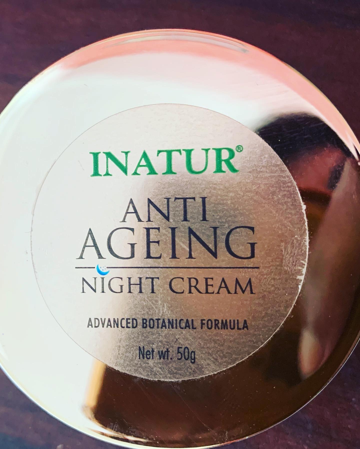 Inatur Anti-Ageing Night Cream pic 2-Nature night cream-By shivanika_dhami