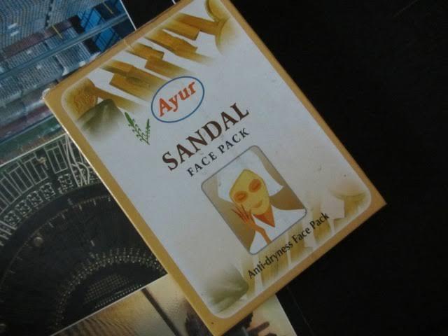 Ayur Sandal Face Pack-Best ayurvedic sandal face pack-By umadevi