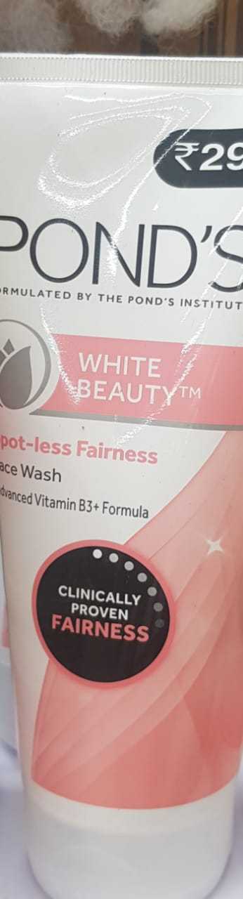 Pond's White Beauty Daily Spotless Lightening Face Wash-Affordable facewash-By avyuktha