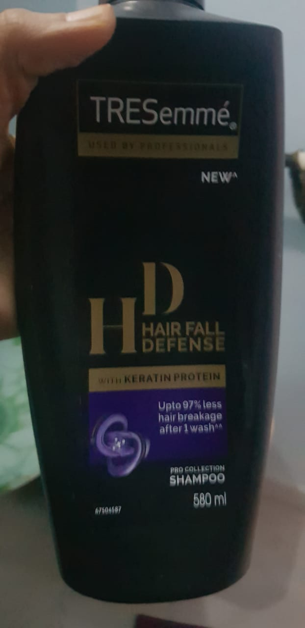 TRESemme Hair Fall Defense Shampoo-Good product-By avyuktha