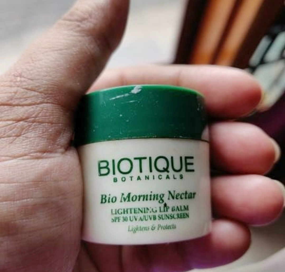 Biotique Bio Fruit Whitening Lip Balm-Amazing results-By marlyn.mansion