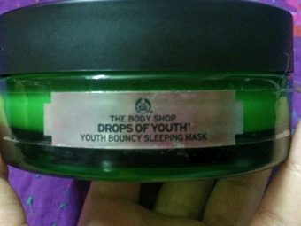 The Body Shop Drops Of Youth Bouncy Sleeping Mask -Amazing results-By marlyn.mansion