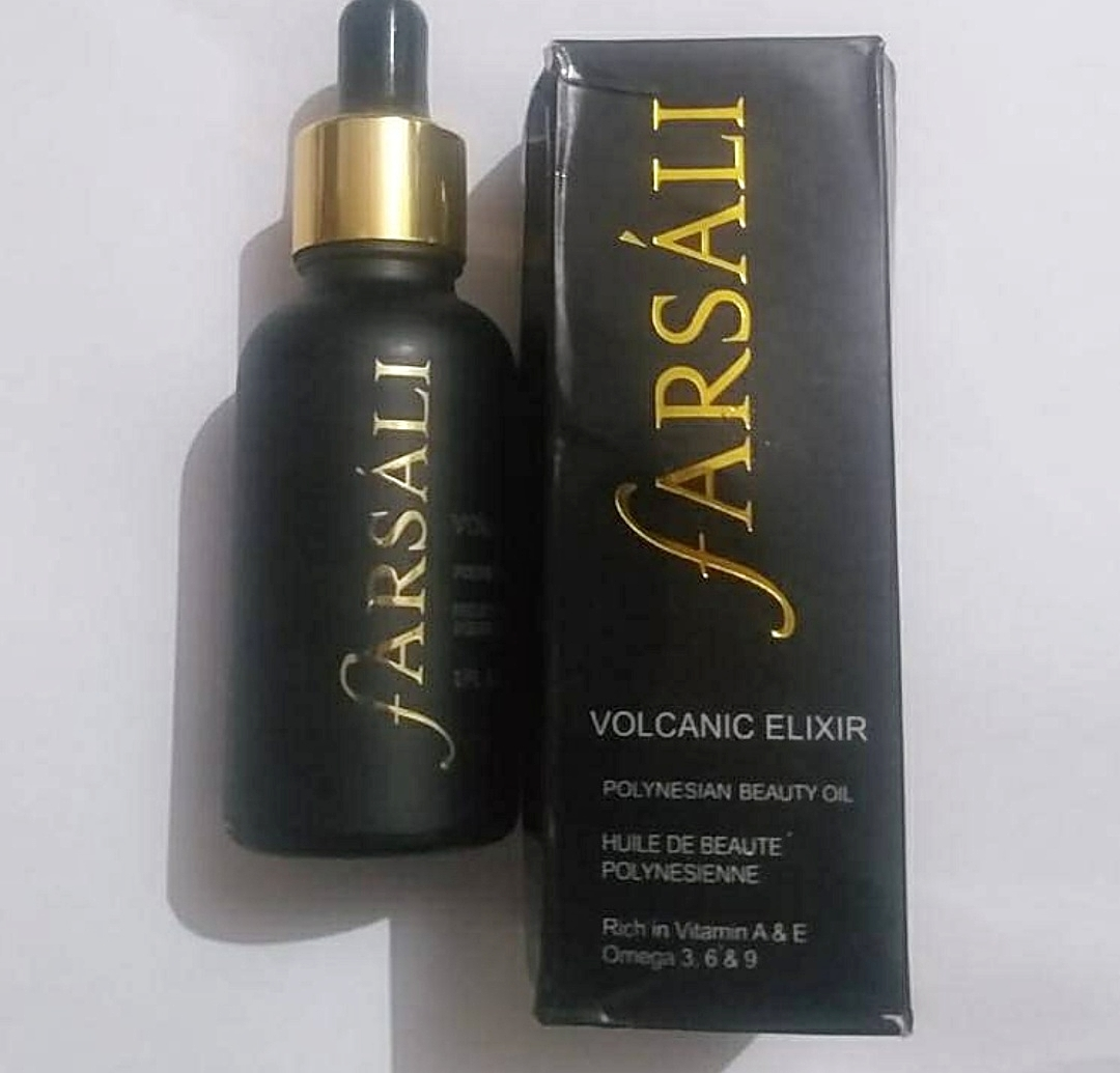 Farsali Volcanic Elixir Night time Beauty Oil-Amazing results-By marlyn.mansion