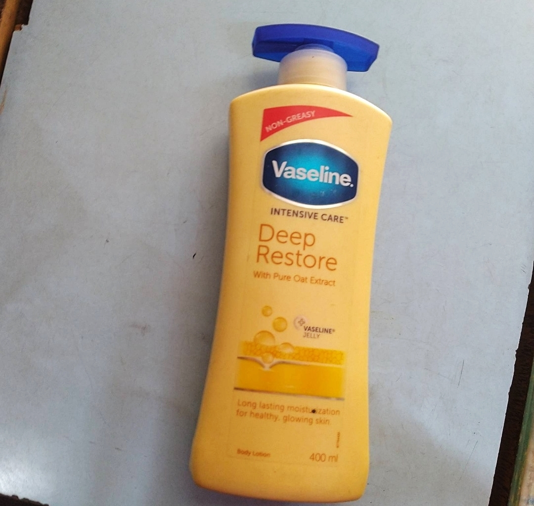 Vaseline Intensive Care Deep Restore Body Lotion-Amazing quality-By marlyn.mansion