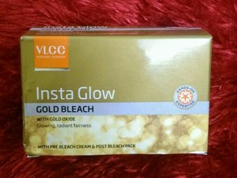 VLCC Insta Glow Gold Bleach -Amazing results-By marlyn.mansion