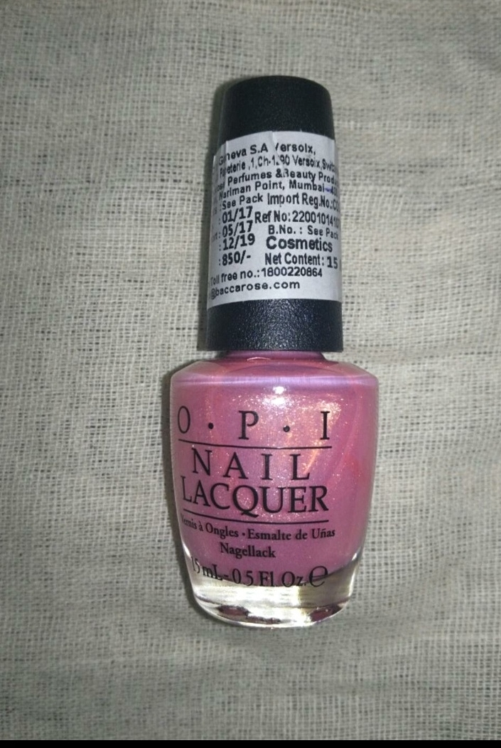 OPI Nail Lacquer -Amazing quality-By marlyn.mansion