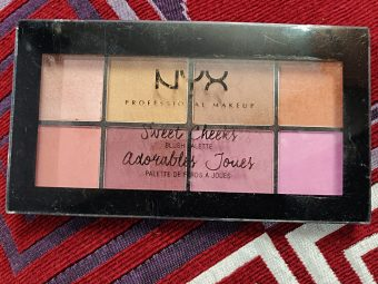 NYX Professional Makeup Sweet Cheeks Blush Palette -Amazing quality-By marlyn.mansion