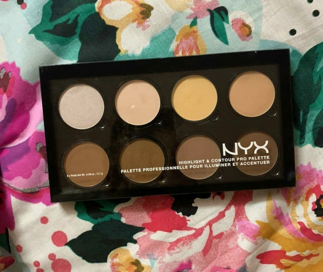 NYX Professional Makeup Highlight & Contour Pro Palette-Amazing quality-By marlyn.mansion