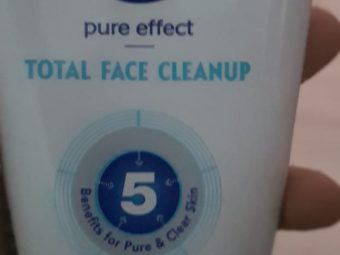 Nivea Total Face Cleanup Face Wash -Nivea Total Face Cleanup-By avyuktha
