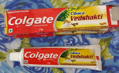Colgate Cibaca Vedshakti Toothpaste-Natural Best tooth paste-By umadevi