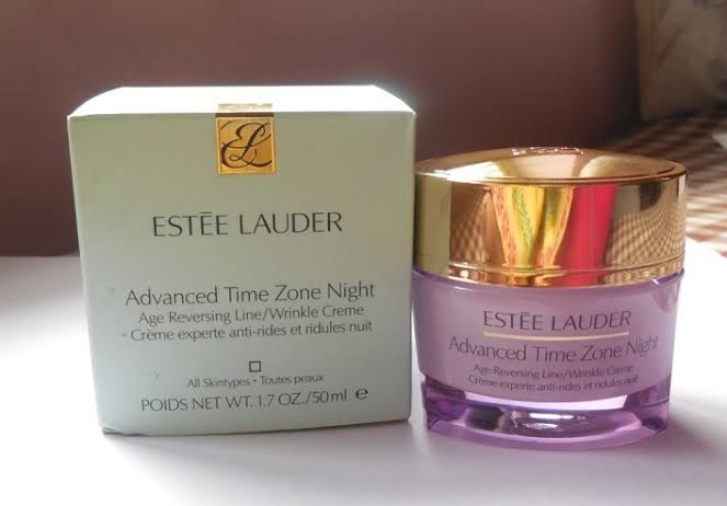 Estee Lauder Advanced Time Zone Age Reversing Line Wrinkle Creme-best wrinkle cream-By umadevi