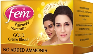 Fem Fairness Naturals Saffron Creme Bleach-Good bleach-By avyuktha