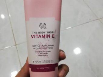 The Body Shop Vitamin E Gentle Facial Wash -BodyShop-By bushraa