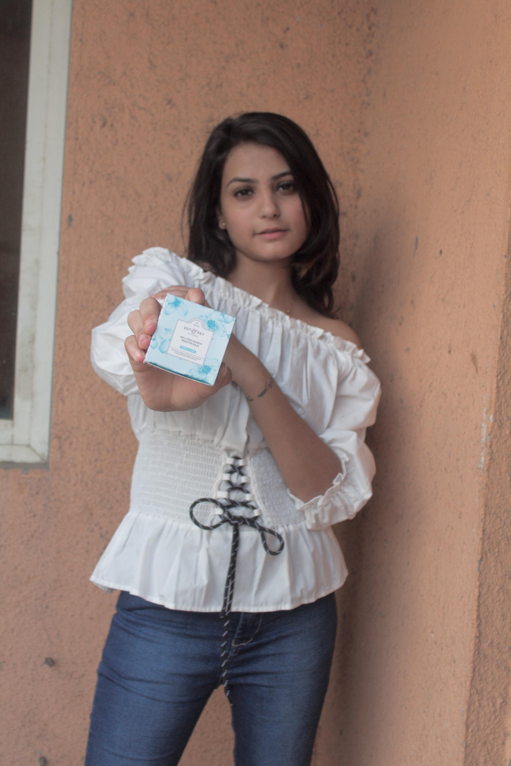 Dot & Key Melt Away Makeup Remover Balm-makeup remover balm-By shrya