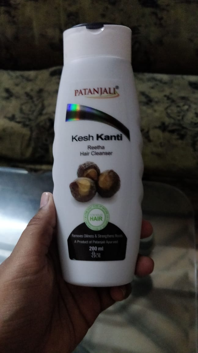 Patanjali Kesh Kanti Reetha Hair Cleanser-Safe and effective hair cleanser-By nidzzz