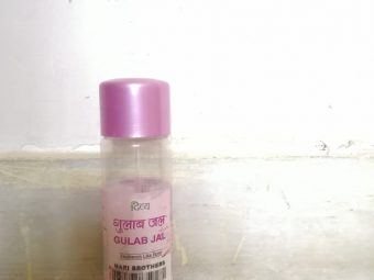Patanjali Divya Gulab Jal (Rose Water) -Rose water is the best natural toner-By nidzzz