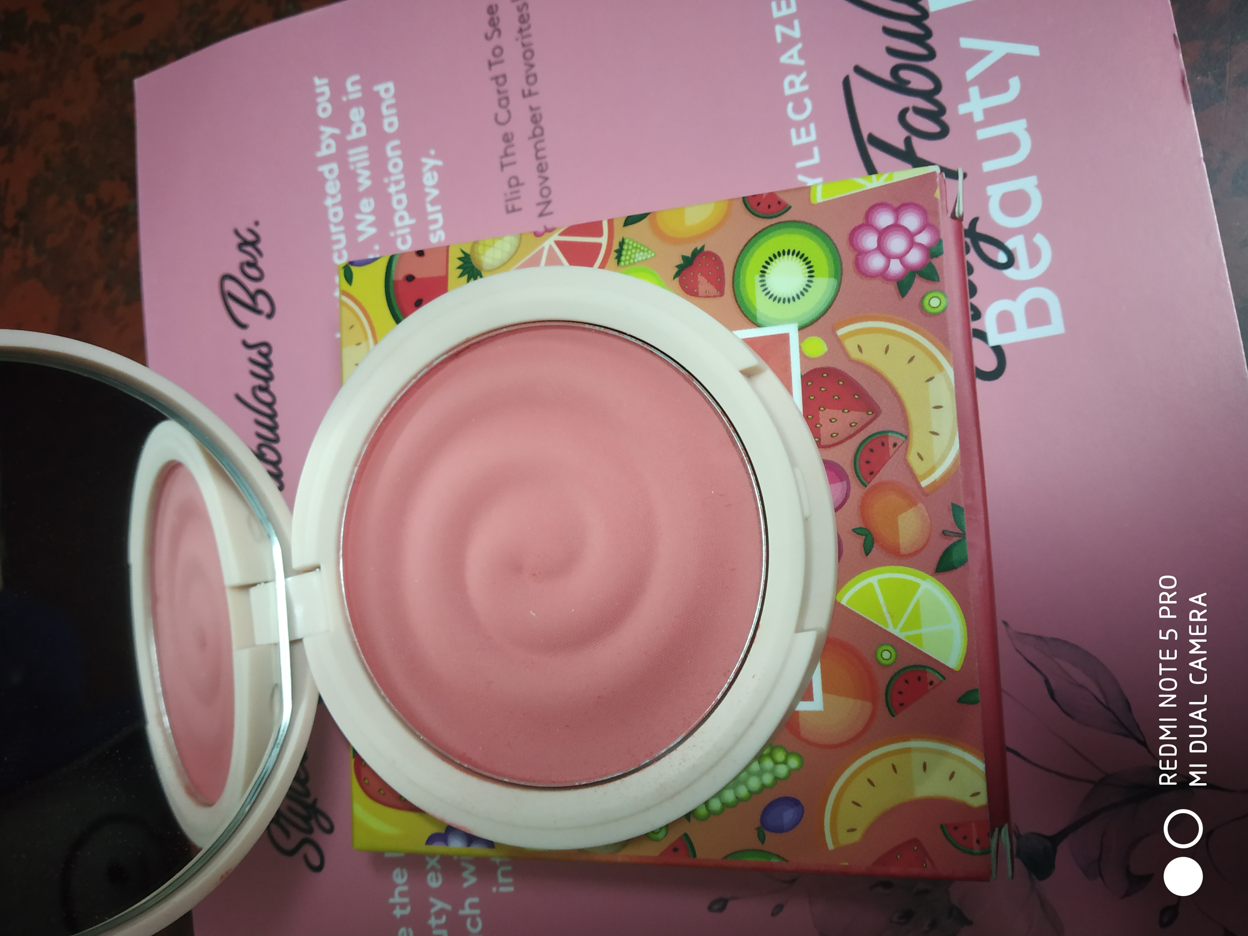 MyGlamm K.PLAY FLAVOURED BLUSH – FROZEN RASPBERRY pic 1-Best Blush To keep Blushing-By farha_mirza